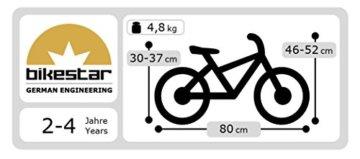BIKESTAR® Premium Sicherheits-Kinderlaufrad für kleine Abenteurer ab 2 Jahren ★ 10er Classic Edition ★ Brilliant Grün -