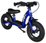 BIKESTAR® Premium Sicherheits-Kinderlaufrad für kleine Abenteurer ab 2 Jahren ★ 10er Classic Edition ★ Abenteuerlich Blau -