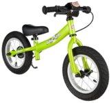 BIKESTAR® Premium Sicherheits-Kinderlaufrad für mutige Entdecker ab 3 Jahren ★ 12er Sport Edition ★ Brilliant Grün -