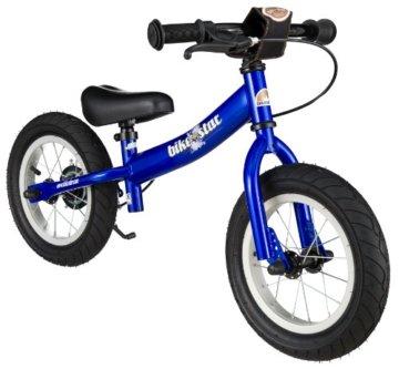 BIKESTAR® Premium Sicherheits-Kinderlaufrad für mutige Entdecker ab 3 Jahren ★ 12er Sport Edition ★ Abenteuerlich Blau -